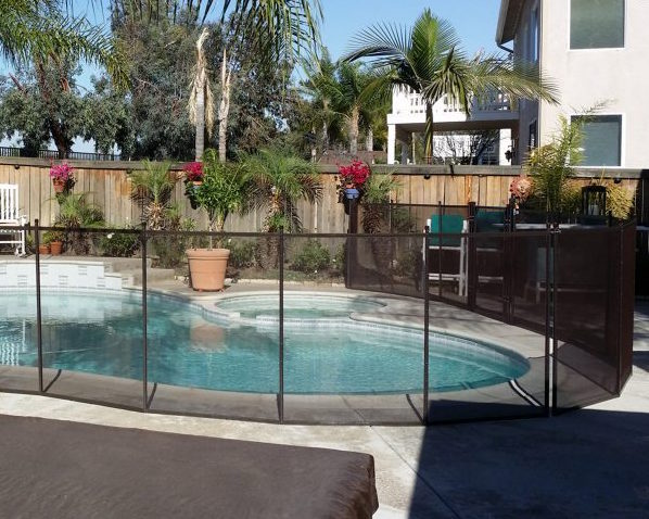 removeable pool fence Newport Beach ca